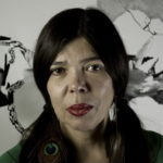 The writer Susana Medina.